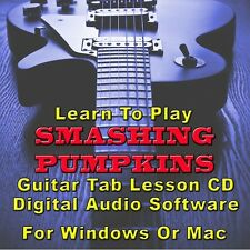SMASHING PUMPKINS Guitar Tab Lesson CD Software - 144 Songs