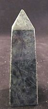 Green Marble Obelisk Hand Polished 5 Inches Tall Mid Century Classic Design
