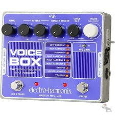 Electro-Harmonix Voice Box Harmony Machine Vocoder Vocal Effect Floor Pedal