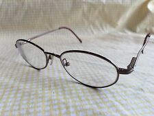 Cottet MAD 9530 Burgandy Matt 49 18 135 RX Eyeglasses Made in France