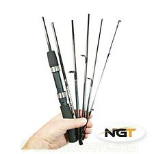 NGT Travelmaster 6ft 6pc Carbon Travel Fishing Rod in Bag - FREE 1st Class Post!