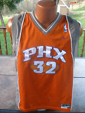 Youth Nike Authentic Phoenix Suns AMARE STOUDEMIRE Jersey Large Sewn RARE