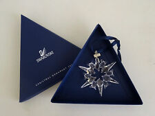 Swarovski Crystal 2007 Annual Snowflake Christmas Ornament Mint in Box