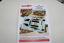 DECALS 1/43 CITROEN C4 WRC NOVIKOV RALLYE PORTUGAL 2009 WRC RALLY