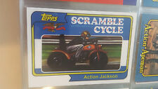 2008 TOPPS MEGO MUSEUM ACTION JACKSON SCRAMBLE CYCLE PROMO CARD ONLY 30 MADE # 2