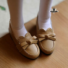 MSD Shoes 1/4 BJD Shoes Supper Dollfie Dollmore Luts AOD DOD MID Flat shoes 0370