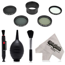 Super Filter Kit CP, UV, ND4, ND8 with Lens Pen, Blower, Brush for DJI Phantom 3