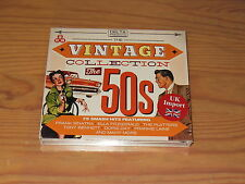 VINTAGE COLLECTION - THE 50s - V.A. / 3-CD-BOX 2015 OVP! NEW!