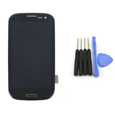 For Samsung Galaxy S3 i9300 New LCD Touch Screen Digitizer +Frame Assembly Black