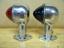 Vintage Old Nautical Bow Running Lights Ship Boat Yacht Marine Scott Chris Craft