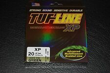 TUF-Line XP Green 20lb Test 300 yard Multifilament Braid Fishing Line XP20-300GN