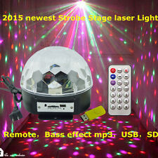Projector DJ Disco LED Light MP3 Remote Stage Laser Lighting Show Party