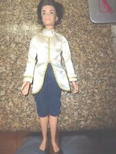 1999 Mattel My Scene 13 inch Boy Doll in PRINCELY OUTFIT