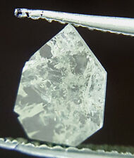 0.40TCW White H color SI1 Antique Pear shape Loose Faceted Slice Natural Diamond