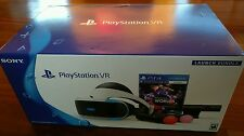 Playstation 4 VR Worlds Bundle Headset PS - Brand New Sealed Box Free Shipping