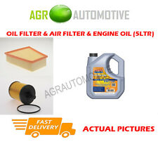 DIESEL OIL AIR FILTER KIT + LL 5W30 OIL FOR SKODA FABIA 1.4 75 BHP 2003-05