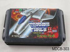 Thunder Force II 2 Mega Drive Japanese Import Sega MD Genesis Japan US Seller B