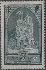 "FRANCE STAMP TIMBRE N° 259 "" CATHEDRALE REIMS 3F TYPE I "" NEUF xx TTB  H254"