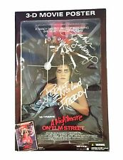 FREDDY KRUEGER NANCY THOMPSON HAND SIGNED NIGHTMARE ON ELM STREET ACTION FIGURE