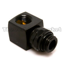 liquid Cooling 90 Degree Angle Rotary Adapter G 1/4 Thread Nozzle Fitting Copper