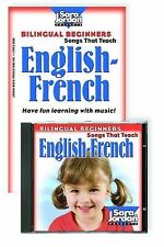 Bilingual Beginners English-French Cd / Book Kit (Songs That Teach French)