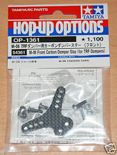 Tamiya 54361 M-06 Front Carbon Damper Stay (for TRF Dampers) (M06/M06 Pro/M06R)
