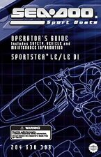 Sea-Doo Owners Manual Book 2004 SPORTSTER LE & SPORTSTER LE DI