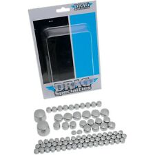 Chrome Engine Bolt Cover Kit HotSpot Kit For Harley Twim Cam