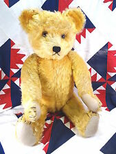 "c 1925 Bing 26"" Large Antique Teddy Bear In Excellent Condition for an Old Bear"