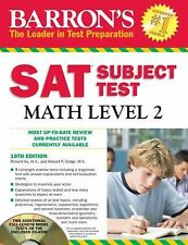 Barron's SAT Subject Test Math Level 2 with CD-ROM, 10th Edition by Howard...