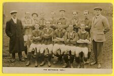 cpa SPORT PHOTO POST CARD GREAT BRITAIN Equipe de FOOTBALL The Metrogas 1920-1