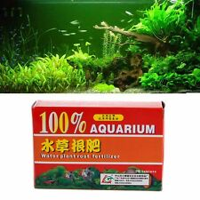 36pcs/Box Root Fertilizer for Water Plant Aquarium Fish Tank Aquatic Cylinder