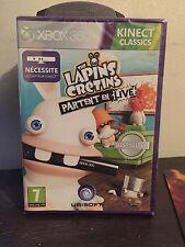 The Lapins Crétins Partent en Live sur Xbox 360 Kinect neuf sous blister VF