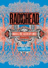 Radiohead 2012 Austin Repro Tour POSTER