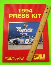 1994 JEFF BURTON NASCAR RACING PRESS KIT Raybestos PHOTOS Data THUNDERBIRD Xlnt+