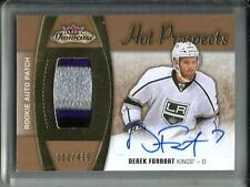 Derek Forbort 15/16 Hot Prospects Autograph Game Jersey Patch RC #002/499