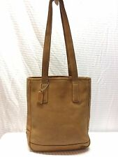 Coach Hamptons Tan Leather Tote Shopper, 7776