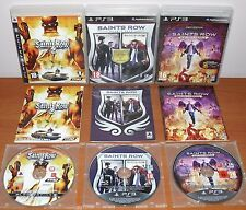 Saints Row Collection (2, Pack The Third & IV, Gat out of Hell) PS3, Pal-España