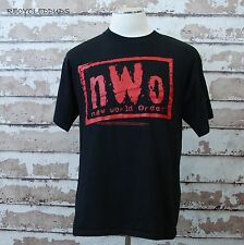 Vintage 1998 NWO Wrestling T Shirt Black Red sz XL WCW Hulk Hogan