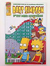 """Bart Simpson """"P'tit mec mystère"""" Comics Bongo n°7 (décembre 2003)"""