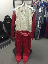 Sparco Monaco Karting Suit White/Red (62)