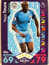 Match Attax 2016/17 Premier League - #171 Yaya Toure - Manchester City