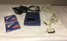 Iomega Zip 100 Disk Drive With Data Cables, Power Supply And 2 New Disks