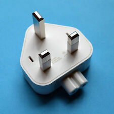 "2 x Apple Macbook Air 11"" Pro 13 15 17 MagSafe UK 3 Pin Power Plug"