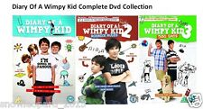 DIARY OF A WIMPTY KID TRILOGY DVD PART 1 2 3 ALL Movie DVD Collection Film NEW