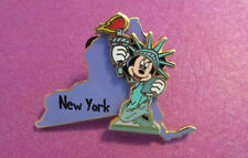 Disney trading pin New York empire state Minnie statue of liberty