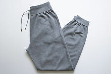 $1190 NEW TOM FORD Gray Cotton Cashmere Lounge Track Jogging Sweatpants 54 Euro