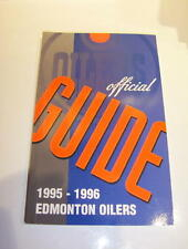 Edmonton Oilers 1995-96 Official NHL Media Guide-NEW