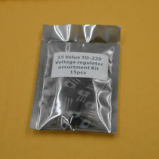 15 Value L78/L79 series/LM317  TO-220 Three-terminal voltage regulator KIT