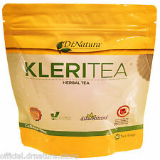 #1 RANKED DR NATURA COLONIX HERBAL KLERI TEA NATURAL BODY DETOX 30 TEA BAGS NEW